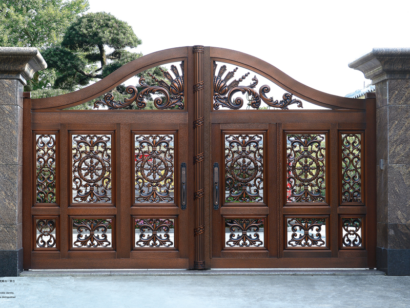 提供性價比高的銅門生產_廣州定制別墅銅門
