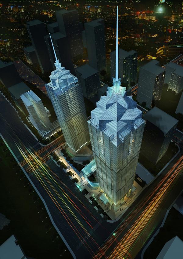 环球188大厦钢结构管柱配套项目