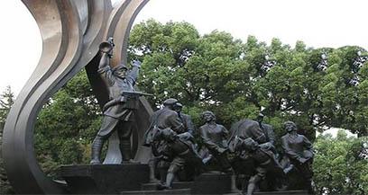 郑州不锈钢雕塑公司