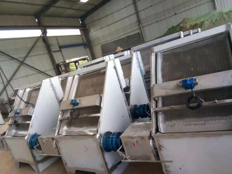 晨晖机械提供专业的斜筛式干湿分离机-漯河干湿分离机