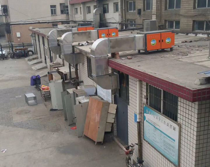 无烟环保净化烧烤车厂家