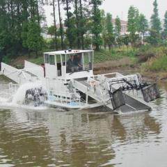 半自动割草船