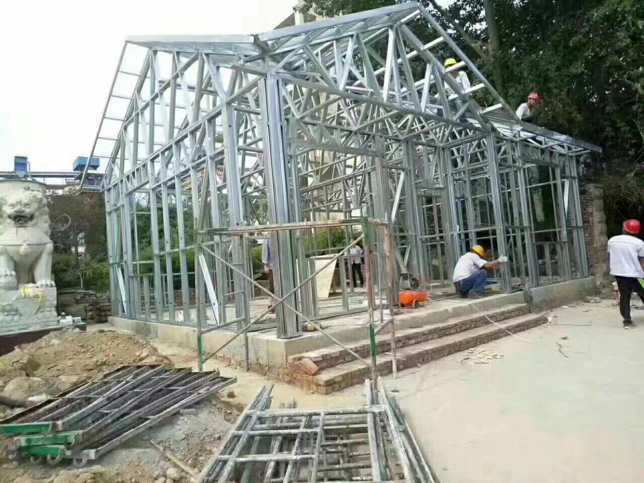 河南轻钢别墅工程