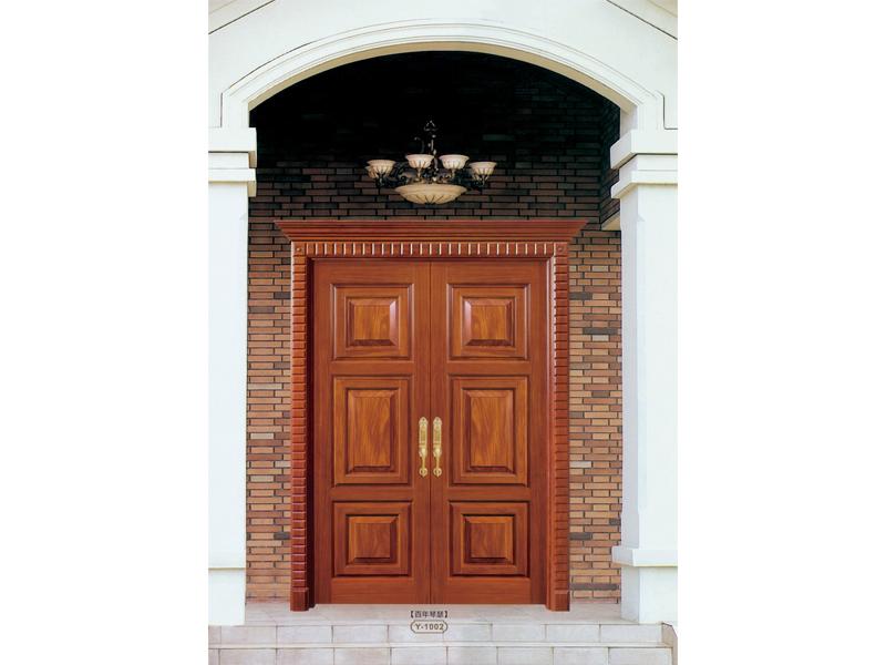 复合烤漆门-怎么买品牌好的豪华大门系列呢