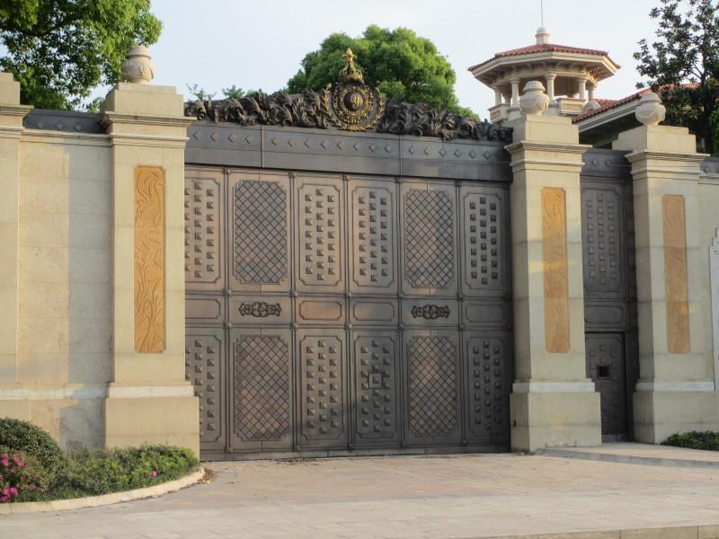 兰州纯铜庭院门