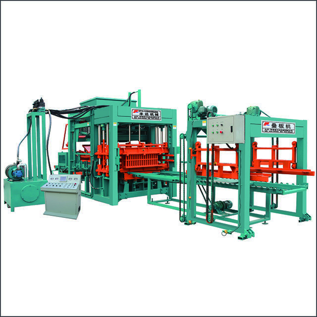 QTY15-15型全自动砌块成型机