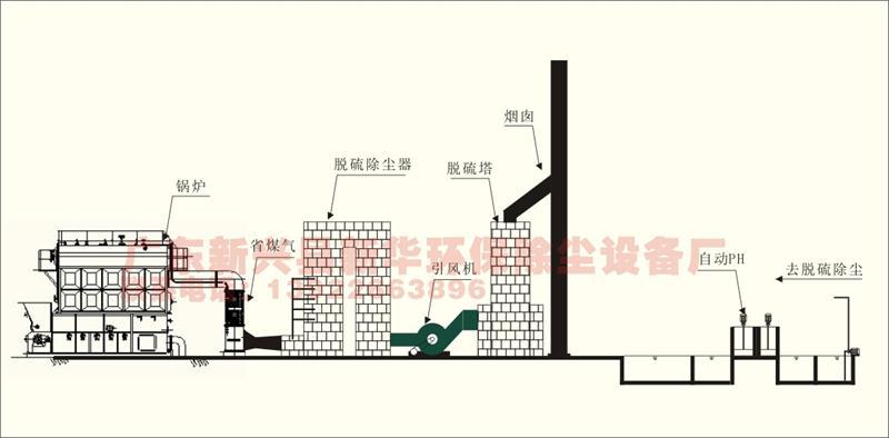 惠州砖厂隧道窑脱硫专用麻石脱硫塔设备