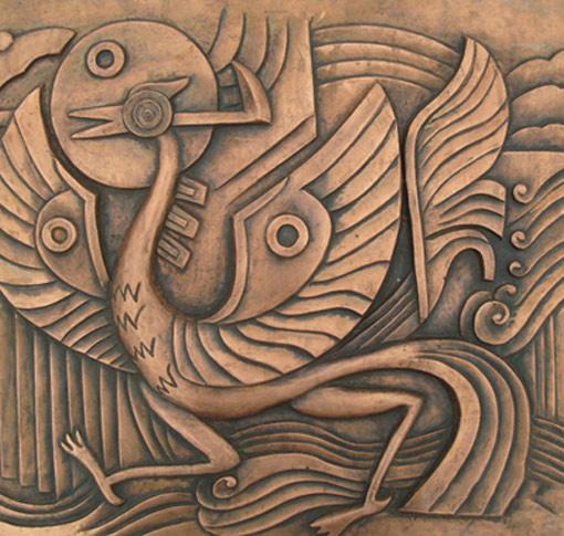 为您推荐优可靠的手工铜雕|专业铜雕定制厂商