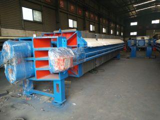 河南铸铁压滤机生产车间