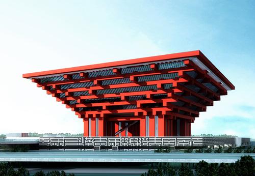 世博会中国馆主体钢结构管柱配套项目