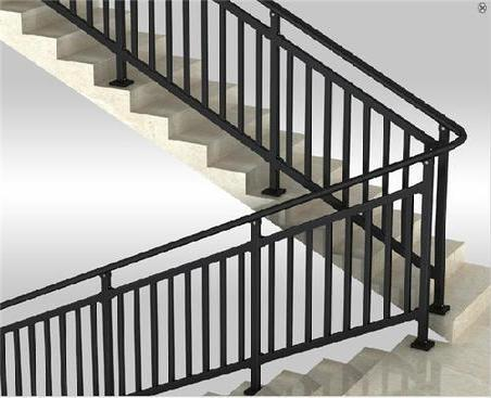 铜艺楼梯扶手立柱的特点及安装介绍