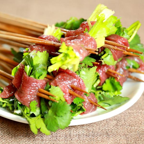 串串火锅(香菜牛肉)