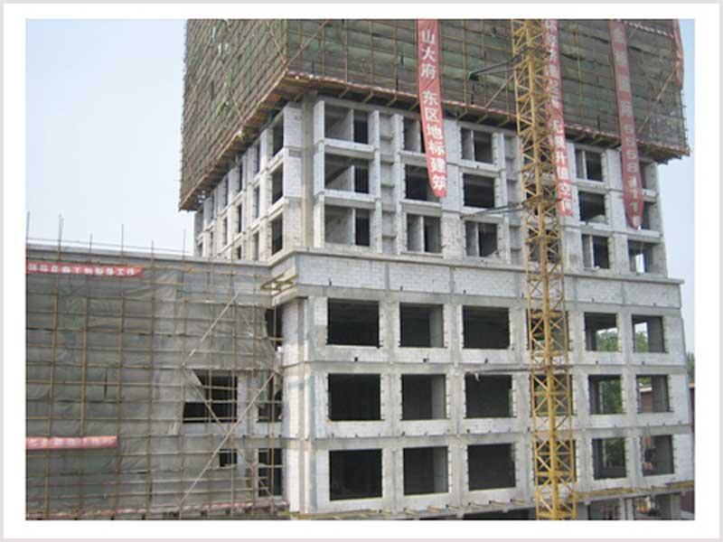 ALC轻质隔墙板工程案例