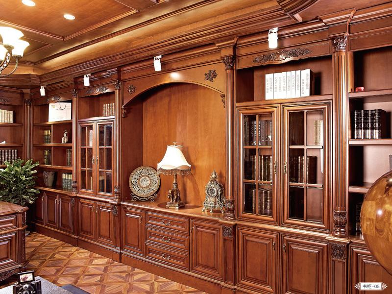 全屋定制书柜