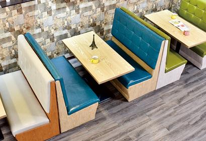 好用的桌椅沙发 有品质的酒店餐厅沙发组合推荐