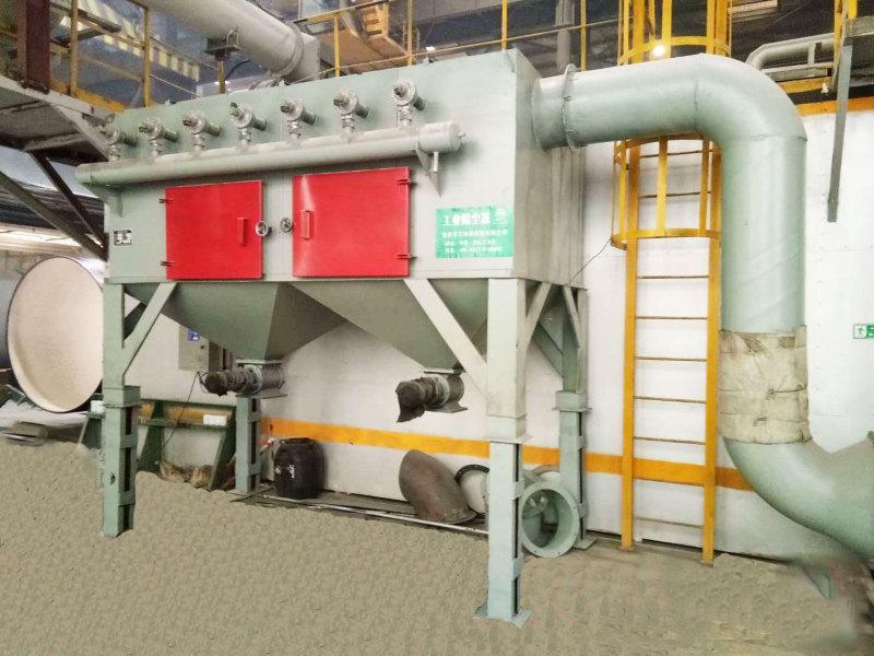 脉冲式布袋除尘器的特点及其安装方法
