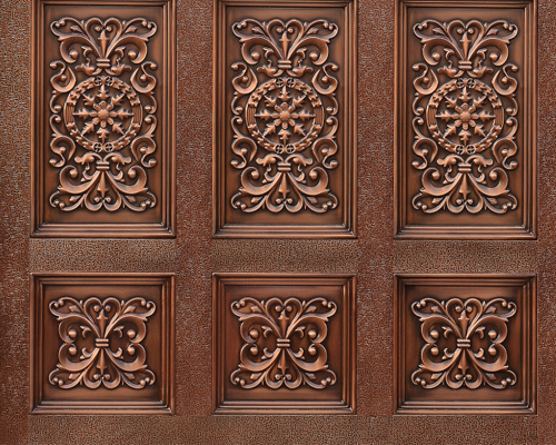 广东划算的铜门哪里有供应 佛山定做铜门加工厂