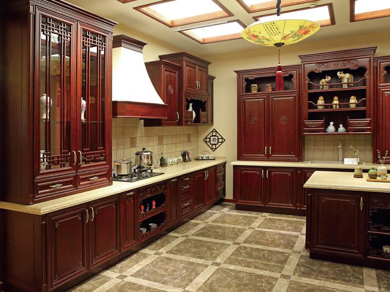 整体橱柜-中式古典风格