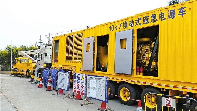 肇庆实惠的应急发电车出租哪里有,大型发电机组出租价钱