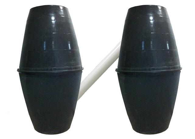 塑料双瓮化粪池堵塞了该怎么进行疏通?