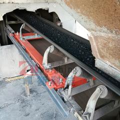 鐵嶺北新建材烘干鍋爐上煤計量QXF-2T型電子皮帶秤