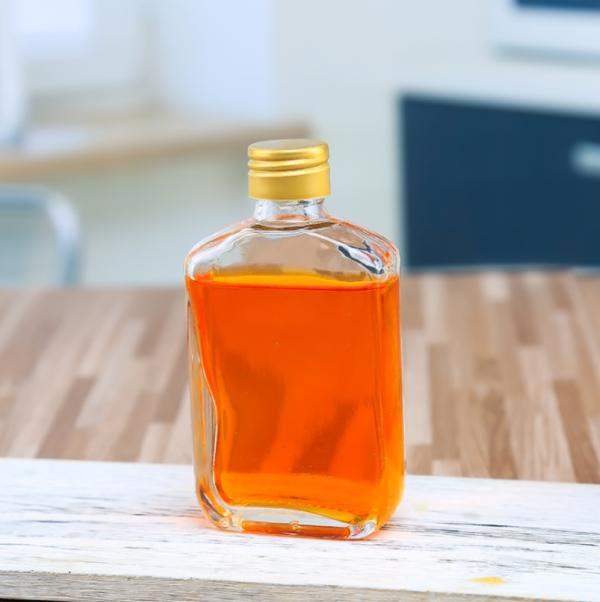 100ml小酒瓶玻璃瓶白酒瓶药酒瓶劲酒瓶2两小酒瓶扁瓶