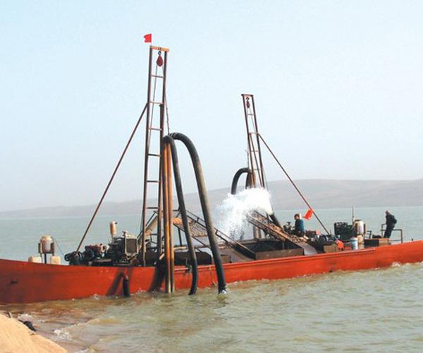 抽沙船设备
