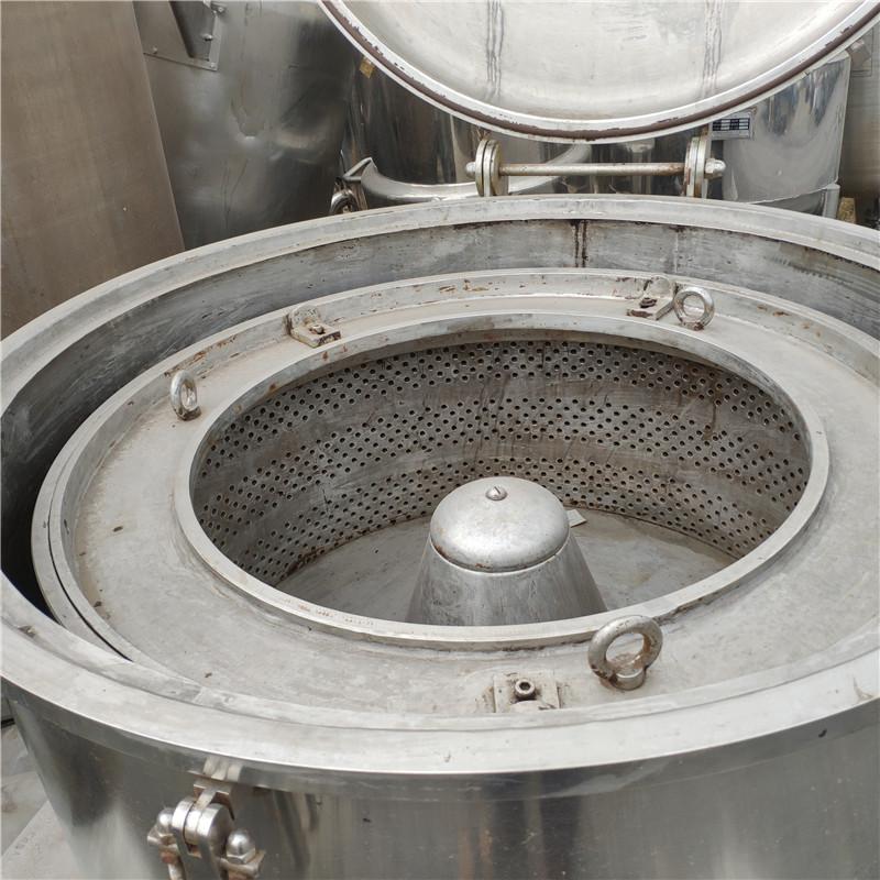 二手污泥处理设备二手500卧螺离心机 要买优惠的二手离心机,就上庆杰二手设备有限公司