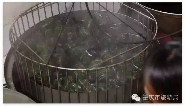 广东裹蒸粽高温蒸煮