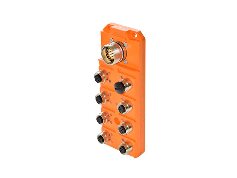 南京连接器批发_热荐优质M12分线盒ASBSV 8品质保证