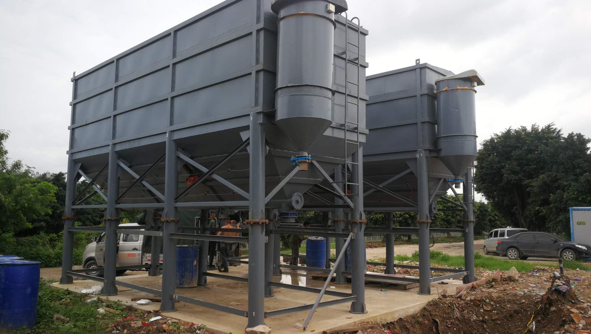卧式水泥仓防腐工作和安装方法介绍
