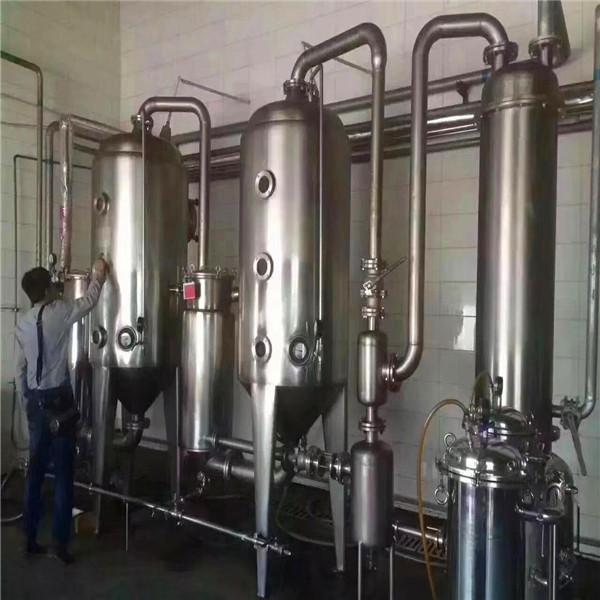 二手四效12吨蒸发器_济宁哪里有卖高性价二手蒸发器