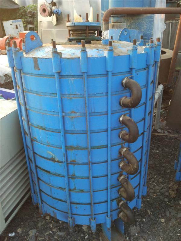 二手搪瓷片式冷凝器