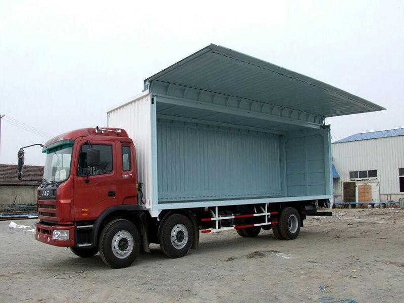 青岛中海运集装箱服务提供好用的飞翼集装箱 生产飞翼集装箱