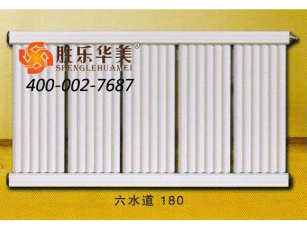双水道132-60铜铝复合散热器