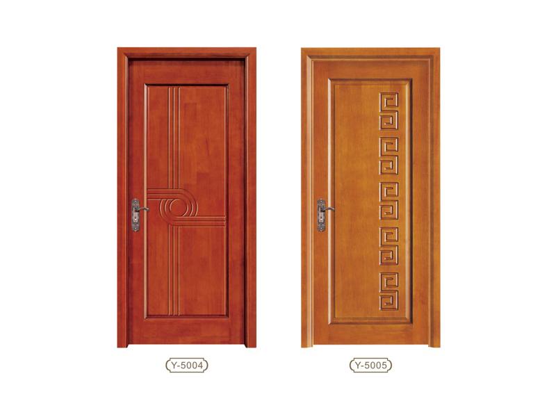 力荐乐居生活品质有保障的平雕门系列 橡木门公司