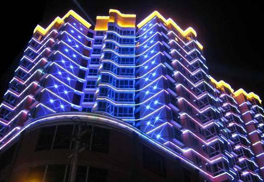 好用的广告招牌LED发光字全彩显示屏在肇庆哪里可以买到_楼宇亮化工程