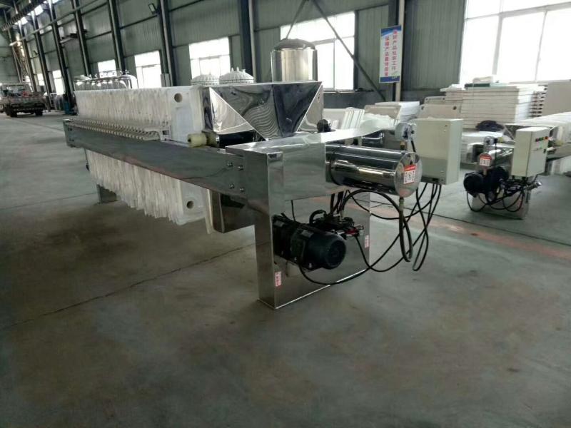 不锈钢自动压滤机