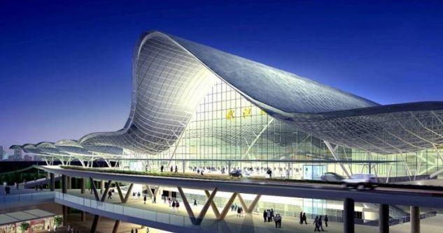武汉新火车站主体钢结构管柱配套项目