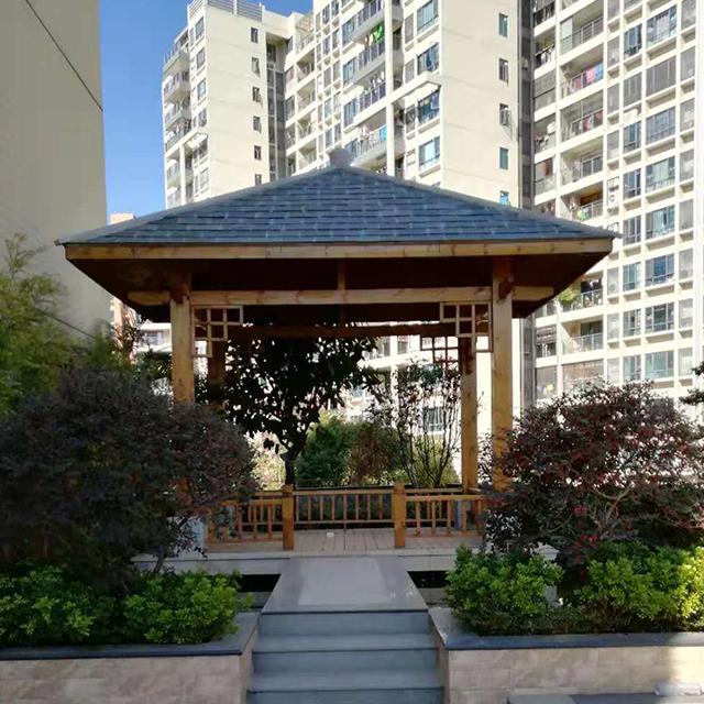 天台花园设计施工防水处理