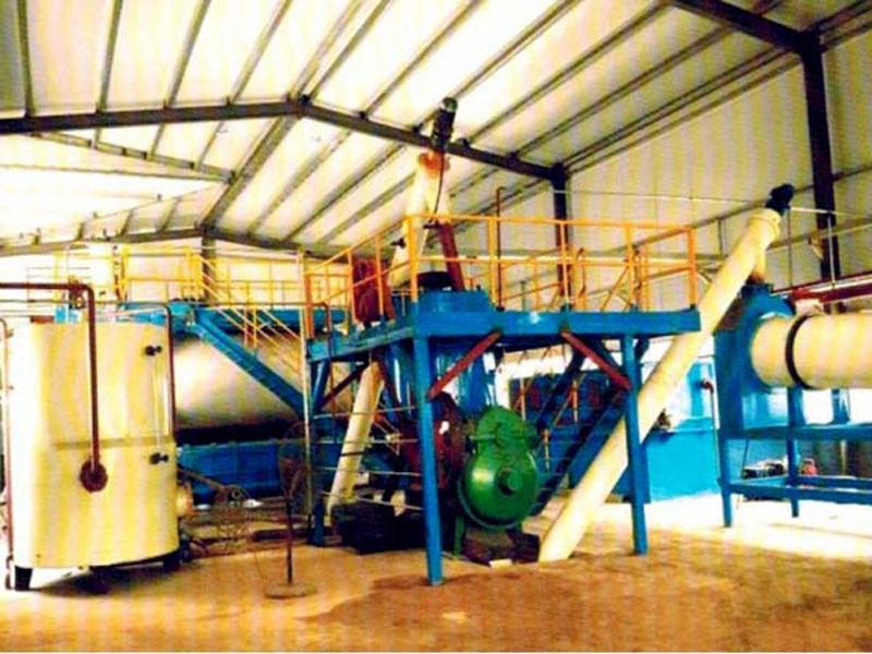 干燥机功能和特点:养猪场内污水粪便无害化处理