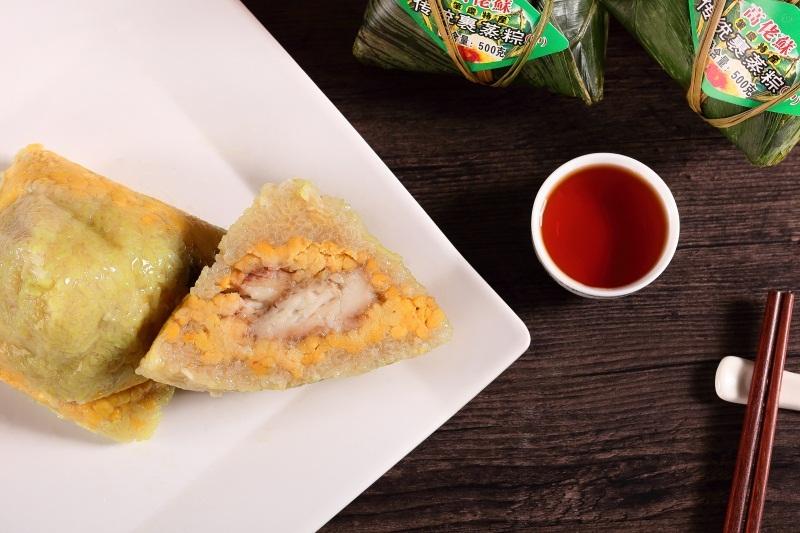 正宗广东粽子的热量和食材选择