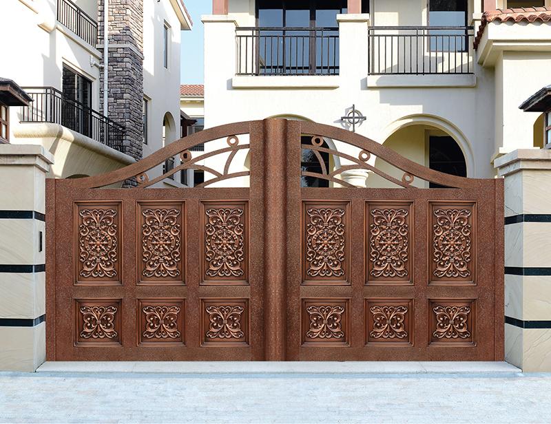 佛山定制別墅銅門廠 鼎一銅門提供合格的銅門